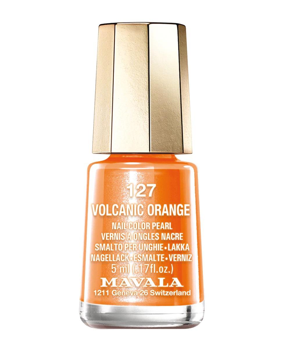 """Esmalte de uñas """"Volcanic Orange 127"""""""