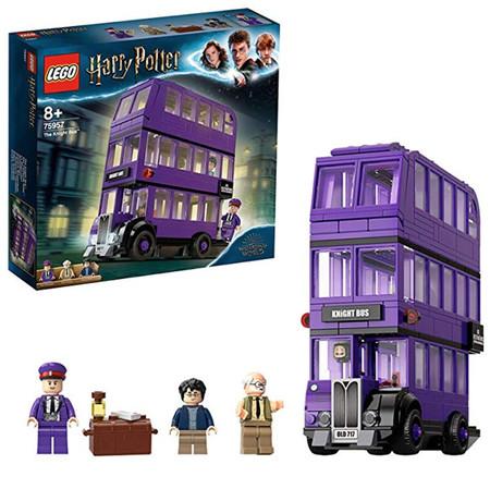 Lego Harry Potter Autobus Noctambulo Juguete De Construccion Del Magico Autobus De 3 Plantas Incluye 3 Minifiguras 75957
