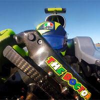 ¡Nuevo vídeo! Imágenes inéditas de Lewis Hamilton y Valentino Rossi con la MotoGP y el F1, con salida de pista del italiano