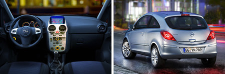 Opel Corsa D Interior