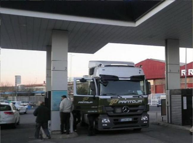 Camión GLP diésel