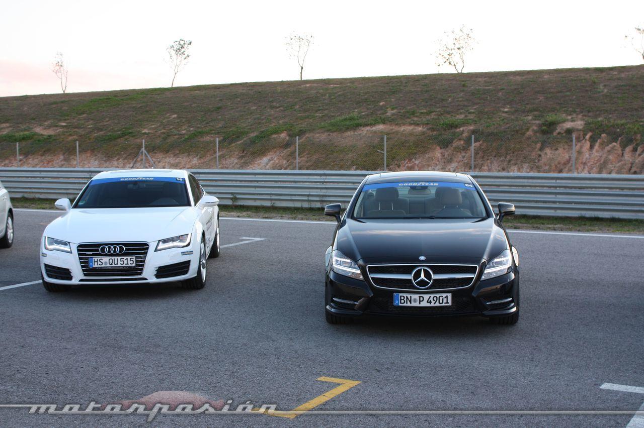 Foto de Goodyear Eagle F1: Audi TT RS, Audi A7 y Mercedes CLS (45/79)