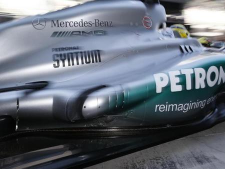 El Mercedes AMG W04 aprobó el Crash Test de la FIA