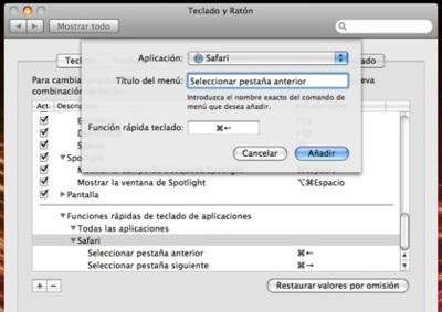 Applesfera responde: Modifica los atajos de teclado de cualquier aplicación