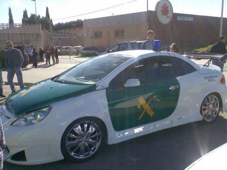 Peugeot 307 Guardia Misil tuning