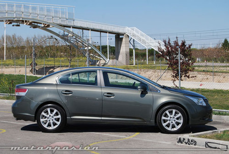 Toyota Avensis 2.2 D-4D, prueba (parte 3)