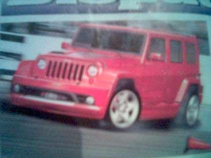 Filtrada imagen del futuro Jeep Wrangler Unlimited SRT-6