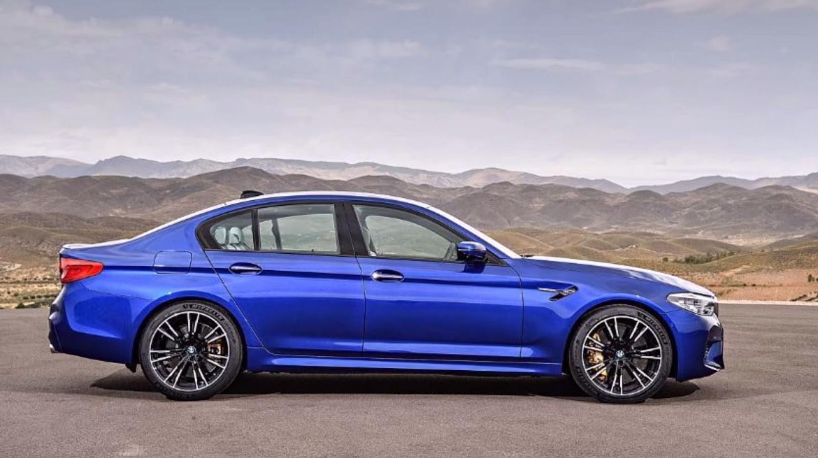 Foto de BMW M5 2018 (filtrado) (3/7)