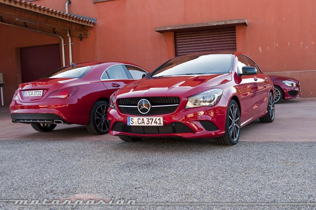 Foto de Mercedes-Benz Clase CLA (presentación) (8/40)