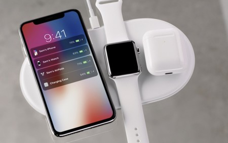AirPower y varios dispositivos