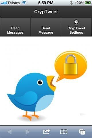 Cryptweet: criptografía aplicada a twitter