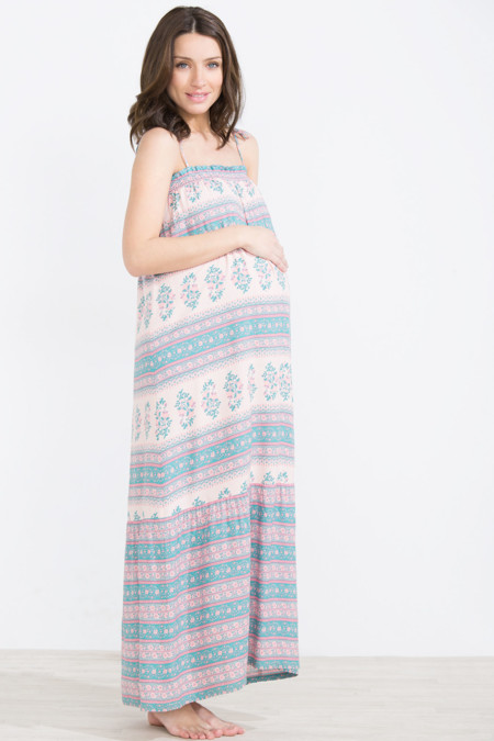 Womensecret Vestido Premama Maxi