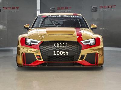 ¡Ni que estuviesen rebajados! Audi Sport ya ha fabricado 100 RS 3 LMS en Martorell
