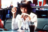 Looks de película: Uma Thurman en Pulp Fiction