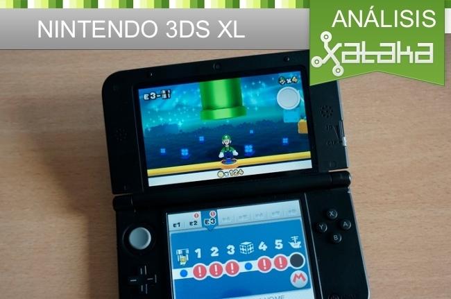 Nintendo 3DS XL análisis en Xataka