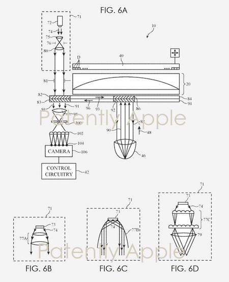 Patente Gafas Detalle