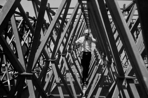 Heberto Castillo y su estructura tridimensional que ha soportado techos en México y el mundo