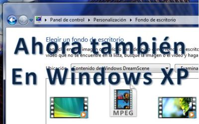 Truco: Usa vídeos como fondo de pantalla en Windows XP