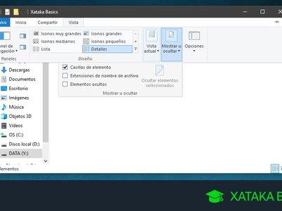 Cómo ocultar carpetas en Windows 10