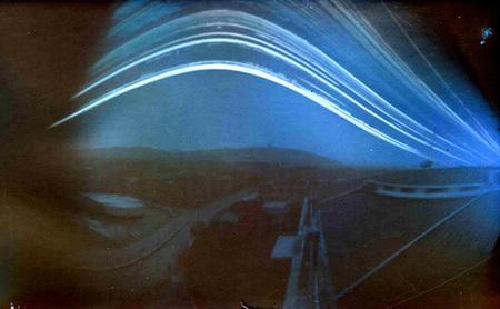 Solarigrafía, registrar el movimiento del sol