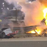 Milagro en Baréin: Romain Grosjean sale ileso de uno de los accidentes más salvajes de la historia de la Fórmula 1