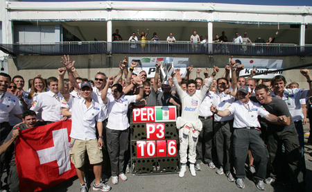 Peter Sauber no descarta una victoria de su equipo durante 2012