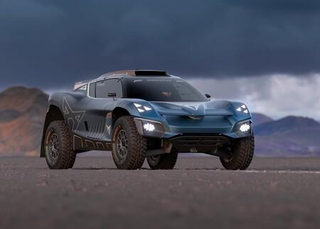 CUPRA Tavascan Extreme E Concept, el SUV eléctrico se transformó en un auténtico 4x4