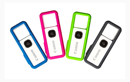 Canon IVY REC: la japonesa anuncia oficialmente la producción de su colorida y asequible cámara de acción