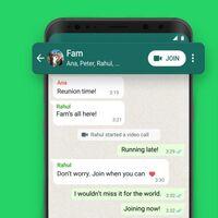 WhatsApp mejora sus llamadas grupales: unirte a una que ya empezó es más fácil que nunca