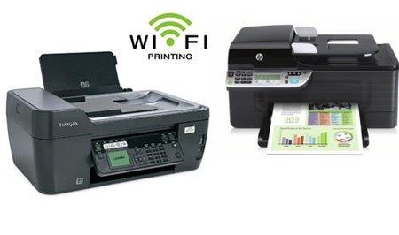 Impresoras con conexión inalámbrica