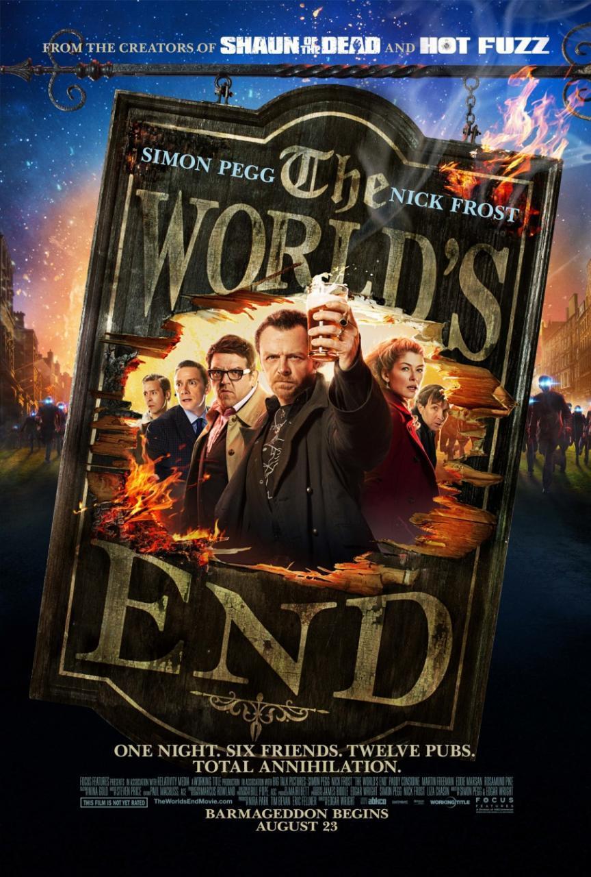 Carteles de Bienvenidos al fin del mundo