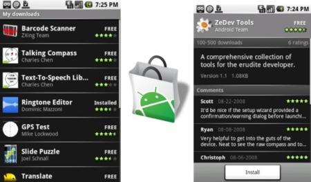 Android tendrá App Store a la que bautizará como App Market