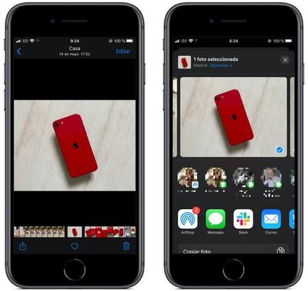 Enviar Airdrop Iphone