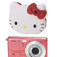 Las cámaras de fotos de Hello Kitty