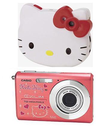 Las cámaras de fotos de Hello Kitty