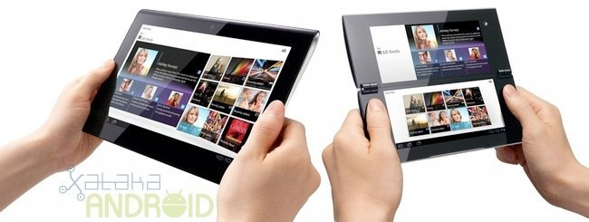 Tablet Sony S1 y S2