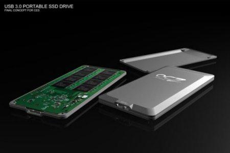SSD externo de OCZ con USB 3.0, lo veremos en el CES 2010