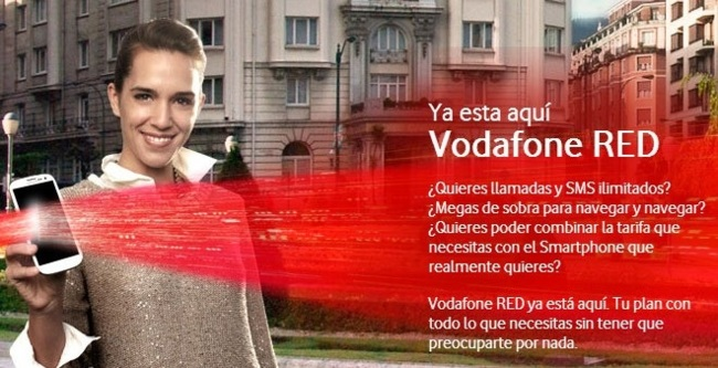 Autocontrol insta también a Vodafone a modificar su publicidad por asegurar que ofrece llamadas ilimitadas en sus tarifas RED