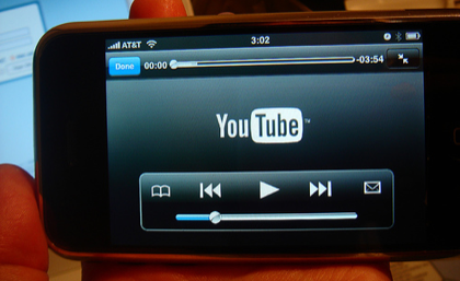 "La nueva beta del Firmware 2.0 del iPhone permite ""ver"" vídeos en Youtube"