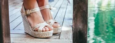 Sandalias de esparto para lucir 24 horas en los largos días de verano