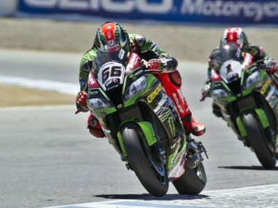 Tom Sykes resiste a las Ducati en Laguna Seca y pone pimienta al Mundial de Superbike