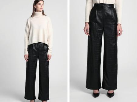 Pantalones Negro Yoox