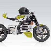 Esta moto eléctrica se controla con un casco especial, tiene embrague y es obra de un ex diseñador de Ducati