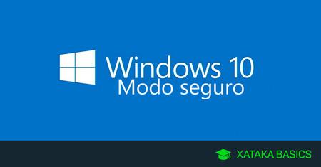 Cómo iniciar Windows 10 en modo seguro o a prueba de fallos