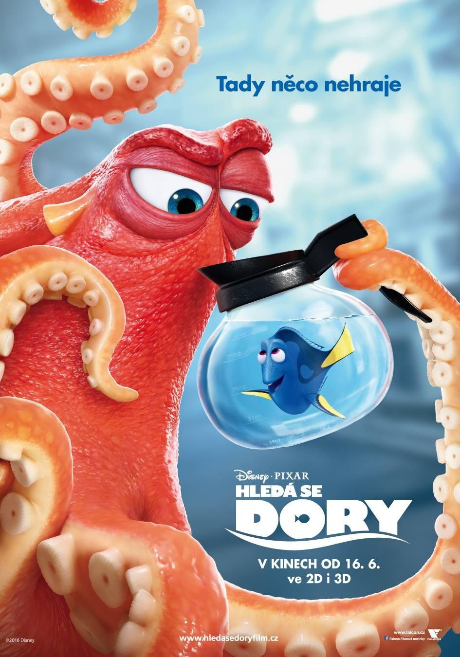 'Buscando a Dory', carteles