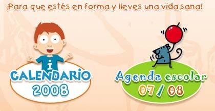 El MAPA repite, agendas y calendarios promueven los hábitos saludables en los niños
