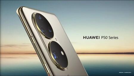 Así son los Huawei P50: se confirma su llamativo diseño y su fecha de lanzamiento sigue en el aire, según Huawei