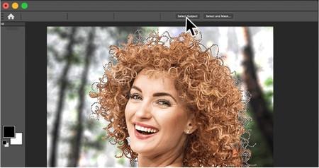 El nuevo Photoshop trae una mejora espectacular a la herramienta de selección de sujeto que detecta hasta el último pelo