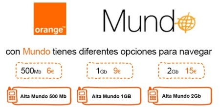 Orange refuerza su tarifa Mundo en prepago con bonos de hasta 2 GB con reducción de velocidad