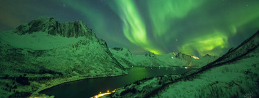 'Nights in the Fjords of Northern Norway', un timelapse 4K que muestra los fiordos noruegos de noche a la luz de la aurora boreal